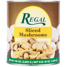 Regal Foods Sliced Mushrooms - #10 Can - 6 / Case