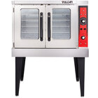 Vulcan VC3ED-12D1 Single Deck Full Size Electric Convection Oven - 240V, 1 Phase, 12.5 kW