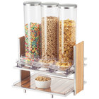 Cal-Mil 1499 Eco Modern Cereal Dispenser with Three 2.7 Liter Bins