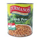 Furmano's Extra-Fancy Chick Peas (Garbanzo Beans) 6 - #10 Cans / Case