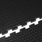 Cactus Mat 4420-CE VIP Duralok 3' x 5' Black End Interlocking Anti-Fatigue Anti-Slip Floor Mat - 3/4