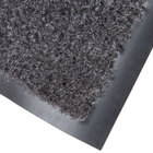 Cactus Mat 1437M-L35 Catalina Standard-Duty 3' x 5' Charcoal Olefin Carpet Entrance Floor Mat - 5/16