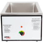APW Wyott CWM-2V Full Size 22 Qt. Insulated Countertop Food Cooker / Warmer - 120V, 1500W