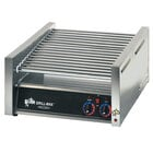 Star 45C Grill-Max 45 Hot Dog Roller Grill with Chrome Rollers - Slanted