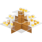 Cal-Mil 1284-60 Bamboo Cupcake Display - 24