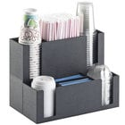 Cal-Mil 2041 Classic Cup / Lid / Straw Organizer - 14 1/2