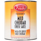 Advanced Food Products A5RFD1-BF Mild Cheddar Nacho Cheese Sauce #10 Can