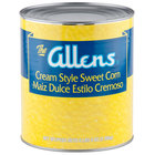 Cream Style Golden Sweet Corn - #10 Can - 6 / Case