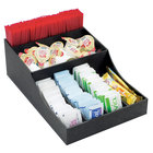 Cal-Mil 1259 Classic Black Coffee Condiment Organizer - 8