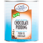 Cafe Classics Trans Fat Free Chocolate Pudding #10 Can - 6 / Case