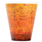 Dart Solo 12U16ESC 12 oz. Fusion Customizable Foam Hot Cup 1000/Case