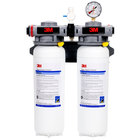 3M Cuno ICE260S Dual Cartridge Ice Machine Water Filtration System - .2 Micron Rating and 6.68 GPM