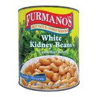 Furmano's White Kidney Beans (Cannellini Beans) 6 - #10 Cans / Case