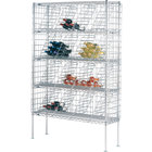 20 Case Metro WB258C Super Erecta Bulk Wine Rack 48