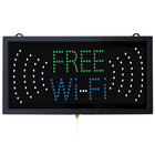 Aarco Free Wi-Fi LED Sign