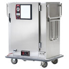 Metro MBQ-120-QH Insulated Heated Banquet Cabinet With Quad-Heat System- One Door Holds up to 120 Plates 120V