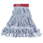 Continental A05101 16 oz. Small Blue Blend Loop End Mop Head with 5