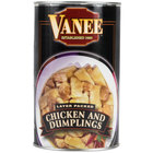 Vanee 450RV Dumplings with Chicken - (12) 50 oz. Cans / Case