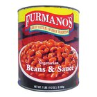 Furmano's Extra Fancy Vegetarian Beans and Sauce 6 - #10 Cans / Case