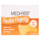 Medique 61578 Medi-First Woven Fingertip Bandage - 40 / Box