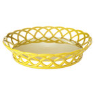 GET RB-860-TY Tropical Yellow Round 10 1/2