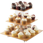 Cal-Mil 1318-60 Cupcake Display with Bamboo Shelves - 20
