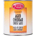 Advanced Food Products A5RFD1-BK Aged Cheddar Nacho Cheese Sauce 6/Case