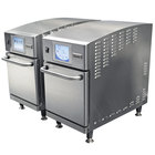 Merrychef eikon e2 Twin High-Speed / Accelerated Cooking Countertop Ovens - 0.64 Cu. Ft. Per Oven