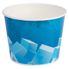 Lavex Lodging 10 lb. Disposable Paper Ice Bucket - 25 / Pack