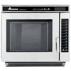 Amana RC22S2 Heavy Duty Stainless Steel Commercial Microwave Oven with Push Button Controls - 208/240V, 2200W
