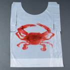 Royal Paper PB24 Disposable Poly Crab Bib - 500 / Box
