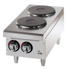 Star 502FF 2 Burner Countertop Range with Solid Burners