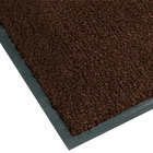 Teknor Apex NoTrax T37 Atlantic Olefin 434-318 3' x 10' Dark Toast Carpet Entrance Floor Mat - 3/8