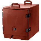 Cambro 300MPC402 Brick Red Camcarrier Pan Carrier with Handles - Front Load for 12