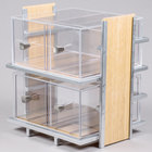 Cal-Mil 1279 Eco Modern Two Tier Bread Display Case - 14