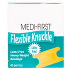 Medique 61678 Medi-First Woven Knuckle Bandage - 40 / Box