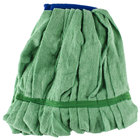 10 oz. Green Microfiber Strip Mop Head