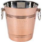 American Metalcraft WB8C Hammered Copper Wine Bucket