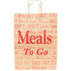 Duro Natural Kraft Paper Shopping Bag with Handles -