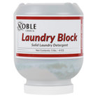 5 lb. Noble Chemical Laundry Block Solid Laundry Detergent - 4 / Case