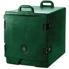 Cambro 300MPC519 Green Camcarrier Pan Carrier with Handles - Front Load for 12