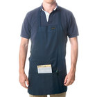 Chef Revival 602BAFH-NV Customizable Professional Front of the House Navy Blue Bib Apron - 28