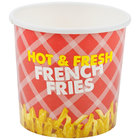 Choice 12 oz. French Fry Cup - 50 / Pack
