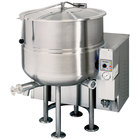 Cleveland KGL-60 60 Gallon Stationary 2/3 Steam Jacketed Gas Kettle - 190,000 BTU