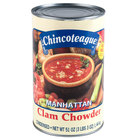 Chincoteague Condensed Manhattan Clam Chowder 6 - 51 oz. Cans / Case