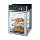 Hatco FSDT-1X Flav-R-Savor Humidified Hot Food Holding & Display Cabinet With 4 Tier Pan Rack