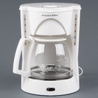 Proctor Silex 48521RY White 12 Cup Coffee Maker