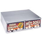APW Wyott BC-31D Hot Dog Bun Cabinet with Drawer for HR-31 Series Hot Dog Roller Grills - Holds 100 Buns