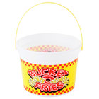 48 oz. Plastic French Fry Bucket with Handle - 160/Case