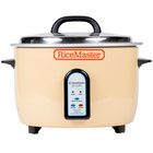 Town 56822 25 Cup Electric Rice Cooker / Warmer - 120V, 1700W